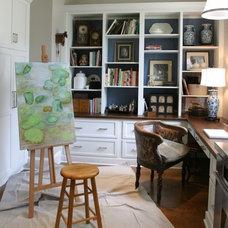 Traditional Home Office by Shapiro & Company Architects