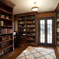 Traditional Home Office by Matarozzi Pelsinger Builders