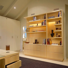 Contemporary Home Office by OJMR-Architects, Inc.