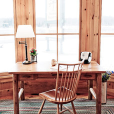 Eclectic Home Office by Pioneer Handcraft Limited