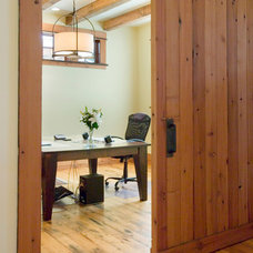 Traditional Home Office by Centre Sky Architecture Ltd