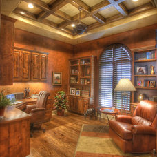 Traditional Home Office by Sterling Custom Homes