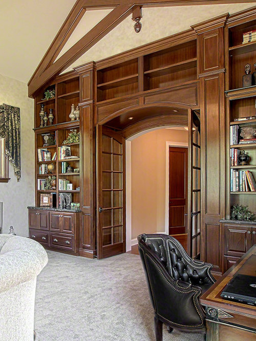 Classic Home Office Home Design Ideas, Pictures, Remodel And Decor
