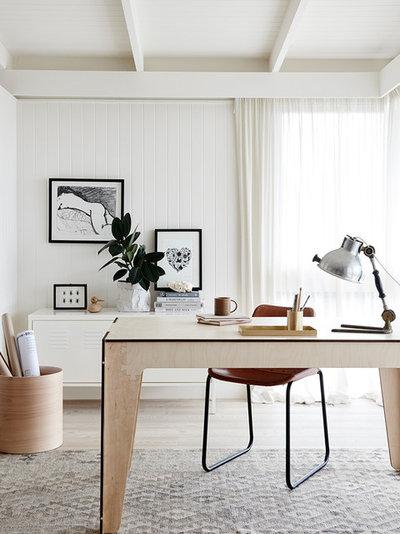 Scandinavian Home Office by Plyroom