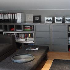 Contemporary Home Office by esra kazmirci mimarlik