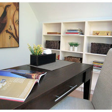 Traditional Home Office by Space Harmony
