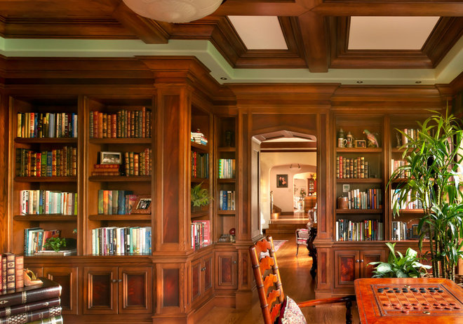 Traditional Home Office by HartmanBaldwin Design/Build