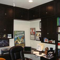 Modern Home Office by A B Custom Design