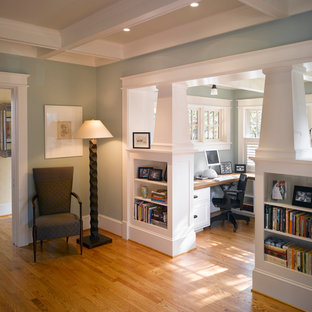 Home office - craftsman home office idea in DC Metro