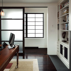 modern home office by Carl Wooley