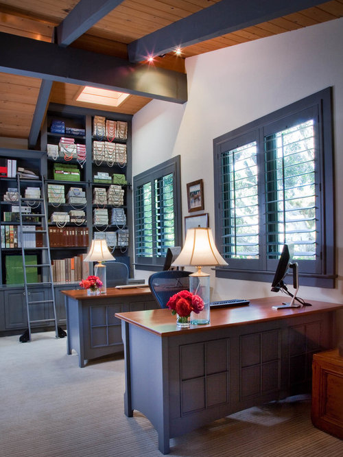 His And Hers Home Office Home Design Ideas Pictures Remodel And Decor