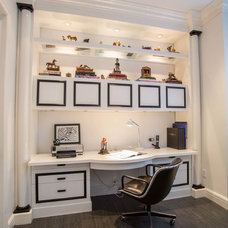 Contemporary Home Office by Fein Zalkin Interiors