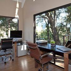 Modern Home Office by Lucile Glessner Design