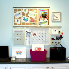 Traditional Home Office by Bright Bold and Beautiful