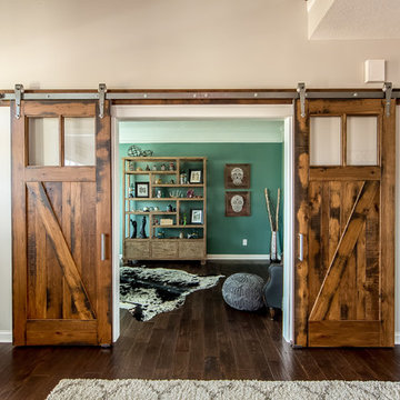 Powell Office and Mudroom
