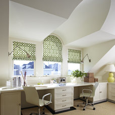 Transitional Home Office by Charlie Barnett Associates