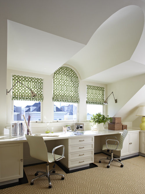 Home Office Window Treatments | Houzz
