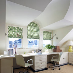 traditional home office by Robert Stiles Architecture