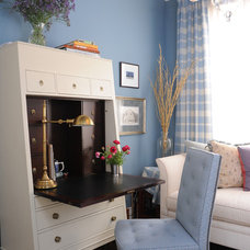 traditional home office by Brian Dittmar Design, Inc.