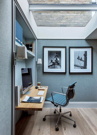 Modern Home Office by Sims Hilditch