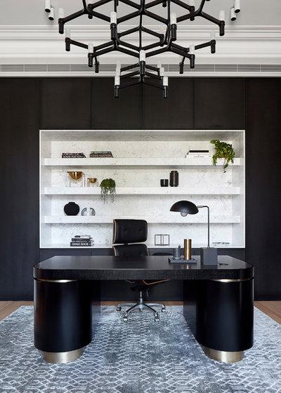 Modern Home Office by Christopher Elliott Design