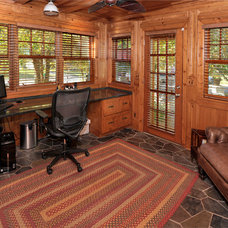 Traditional Home Office by Residential Renewal, Inc.