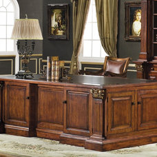 Traditional Home Office by Savannah Collections