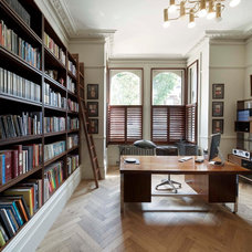 Transitional Home Office by Found Associates