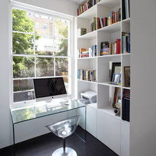 Contemporary Home Office by Found Associates
