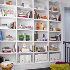 Contemporary Home Office by Luminosus Designs LLC