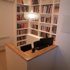 Modern Home Office by Ruth Kedar architect