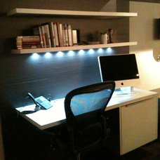 Modern Home Office by Open