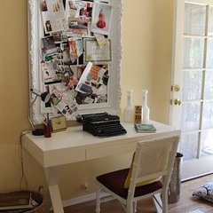 eclectic home office by Madison Modern Home
