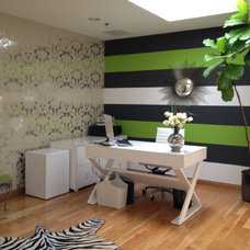 Contemporary Home Office by Beverly Hills Organizer, Inc.