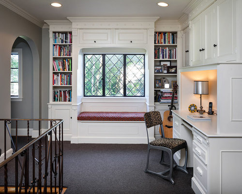 Built Ins Around Windows Houzz
