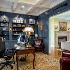 Traditional Home Office by Lazarus & Sargeant, Architects