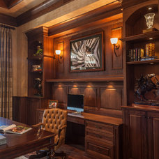 Traditional Home Office by Ruffino Cabinetry