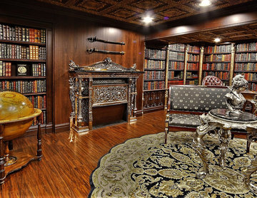 Private residence in French Empire Style interior design by Aristo Artisans Co
