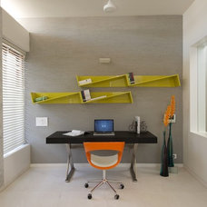 Modern Home Office by sak designs
