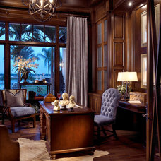 Traditional Home Office by Pacifica Interior Design