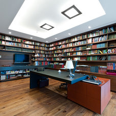 contemporary home office by garbacauskas.lt