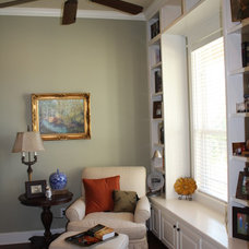 Traditional Home Office by Mill Creek Custom Homes