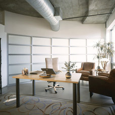 Contemporary Home Office by Urban Design Group