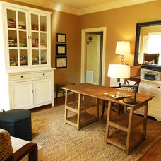 Traditional Home Office by the redesign company