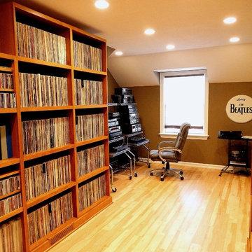Pub, Family Room, Bath and Music Studio in Wauwatosa