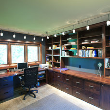 Modern Home Office by RemWhirl Architecture & Landscape Design