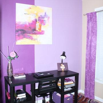 Purple Blast Home Office