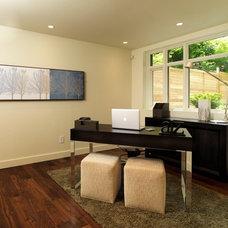 Modern Home Office by Art House Developments