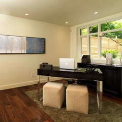 modern home office by ArtHouse Developments