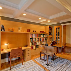 Transitional Home Office by Wrightworks, LLC